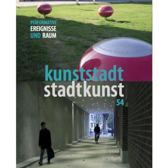 Susanne Bosch - stadtkunst magazine #54