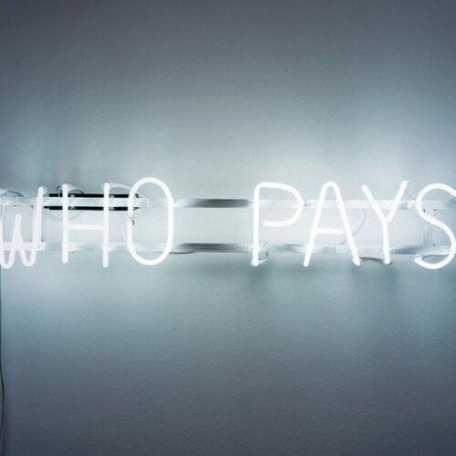 Susanne Bosch - Who pays