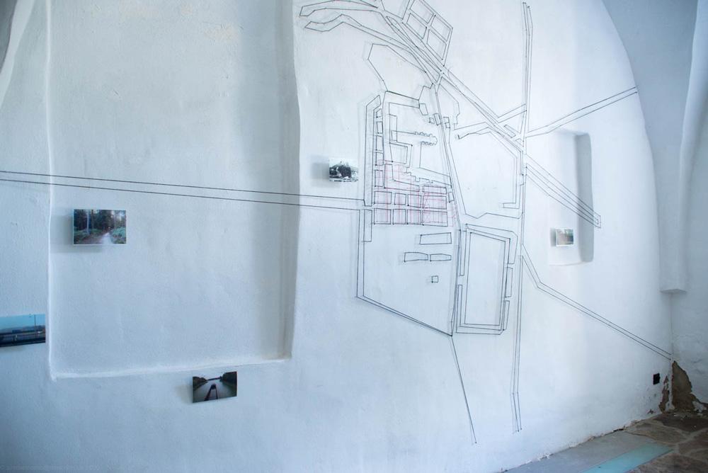 Susanne Bosch - Geschichten (in) einer Landschaft – Kartografisches Schattentheater; Foto: © U.Zimmermann, 2020
